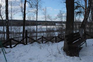 Вид на реку Ока