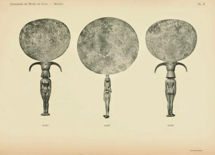 R flexions sur les miroirs de l 39 antiquit gyptienne for Disque en miroir