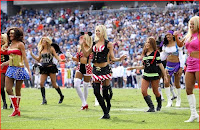 Titans cheerleaders