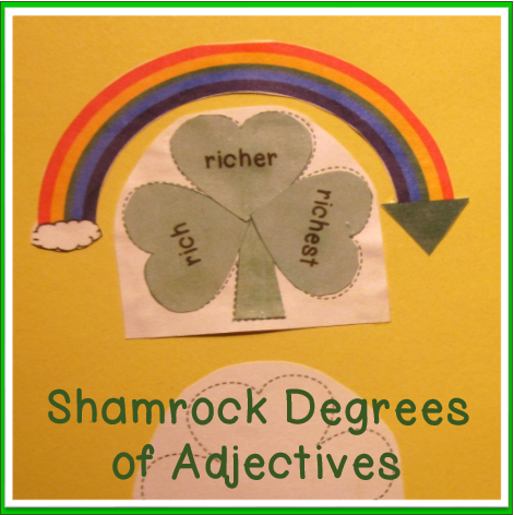 ELA-Degrees-of-Adjectives-St-Patricks-Day-theme