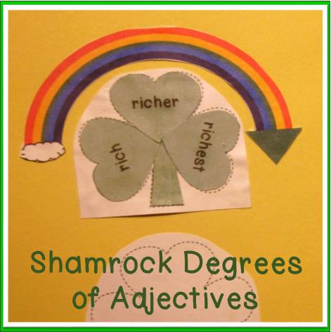 ELA-Degrees-of-Adjectives-St-Patricks-Day-theme