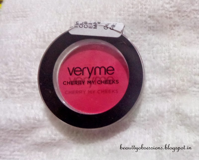 "Oriflame Very Me Cherry My Cheeks Blush "" Pretty Pink "" Review, Swatches"