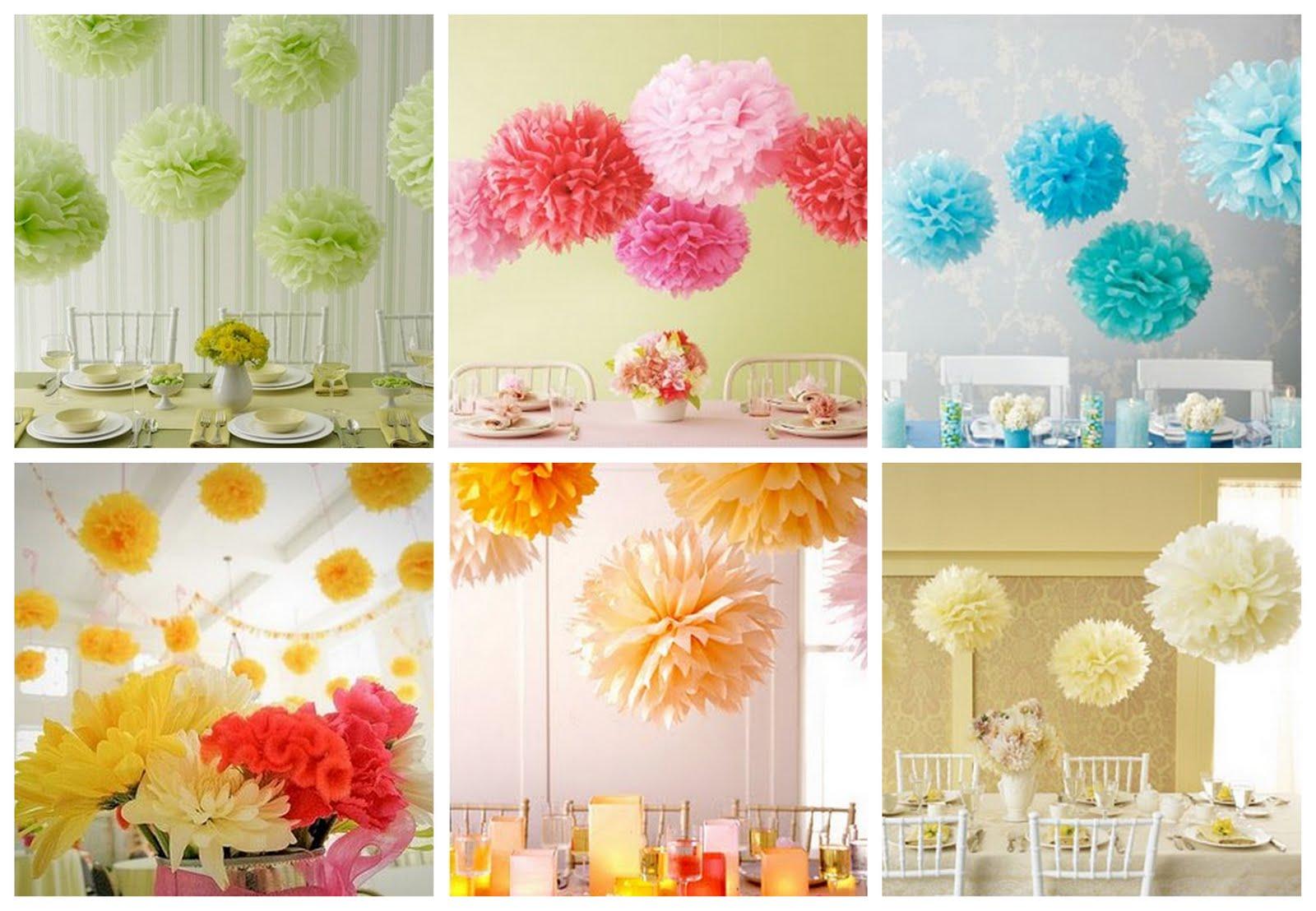 Цветы для украшения зала из бумаги на свадьбу своими руками