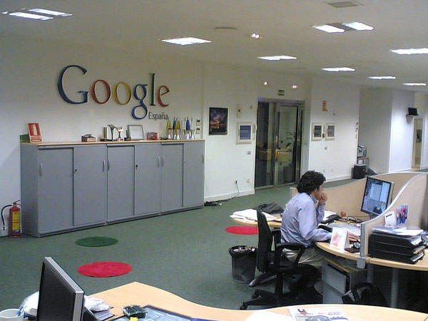 Google Office Madrid Spain Fun Archive