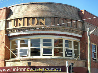 Union Hotel facade detail