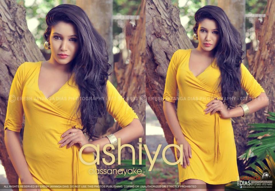 Ashiya Dassanayake yellow