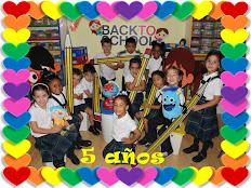 LA CLASE DE 5 AÑOS