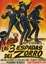 AS TRES ESPADAS DO ZORRO - 1963