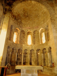 apse of mysterious church