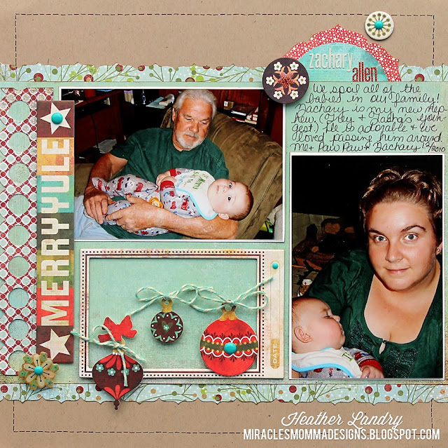 Christmas Baby_Ornament_Scrapbook
