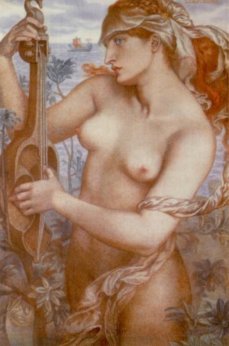 odysseus sirens rossetti