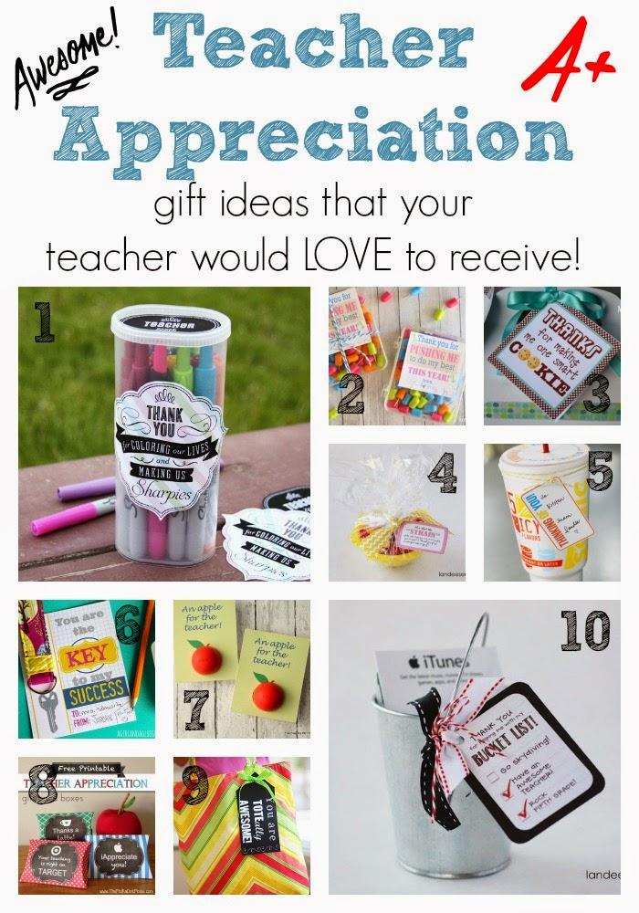 While I'm Waiting...Teacher Appreciation gift ideas your teacher will love!