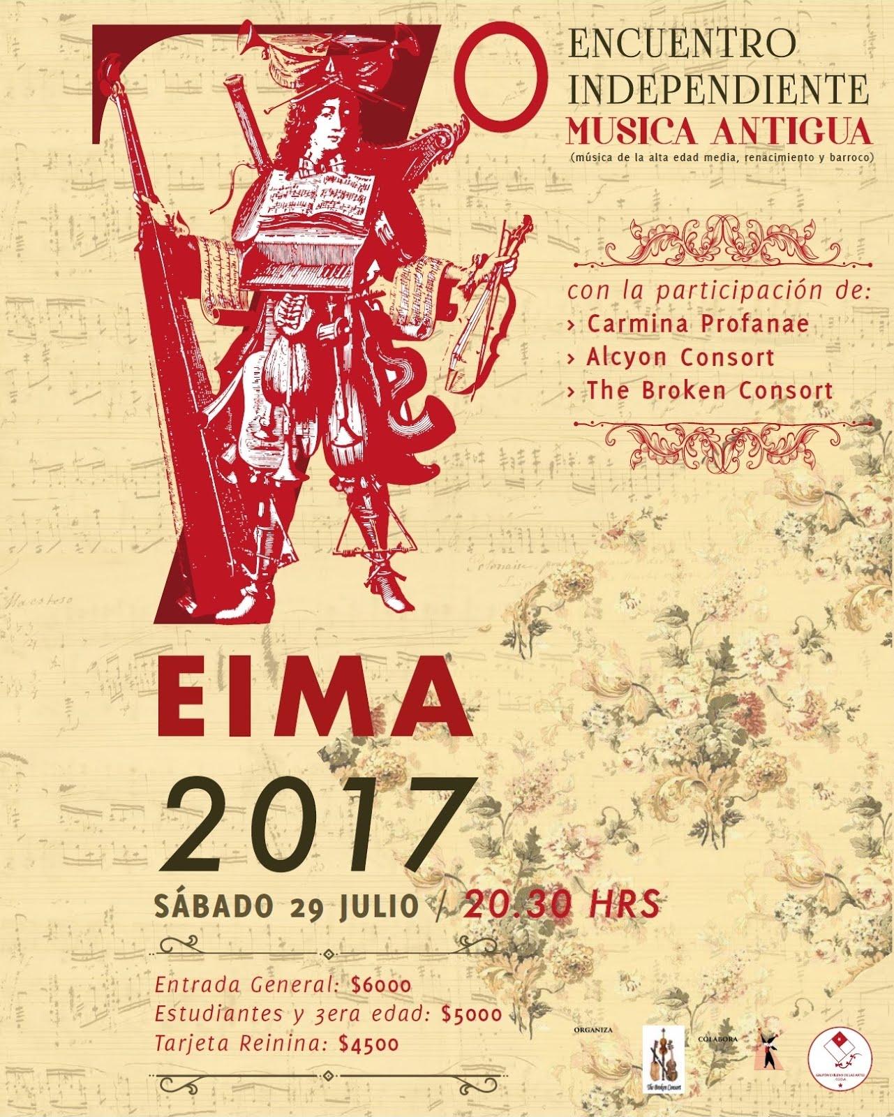 7º Encuentro Independiente de Música Antigua (EIMA 2017)