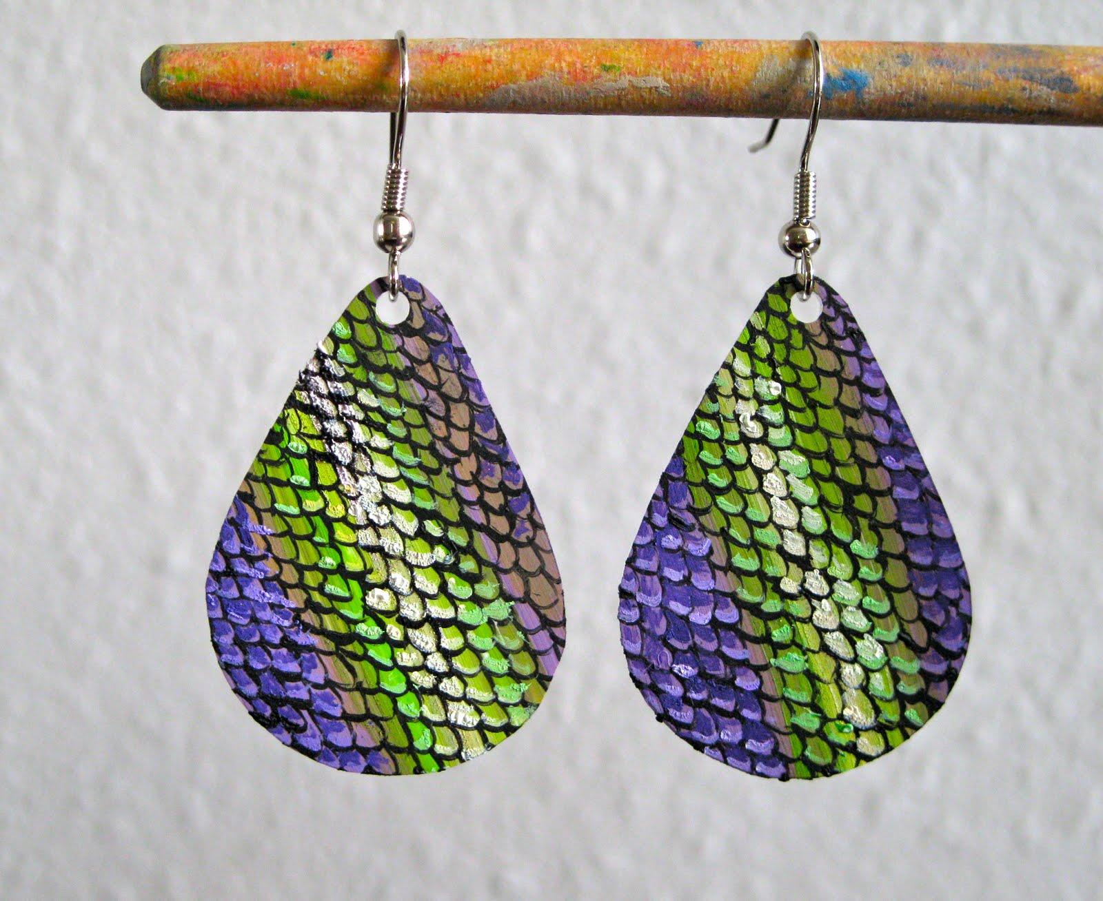 art for all shrinky dink earrings