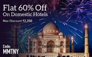 Get 60% Off On Hotel Bookings
