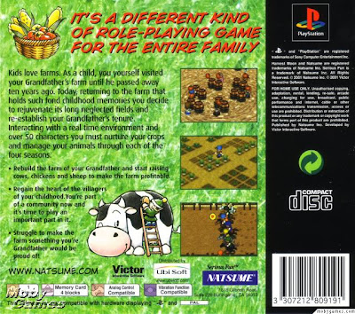 Harvest Moon Back To Nature Bahasa Indonesia Back Cover