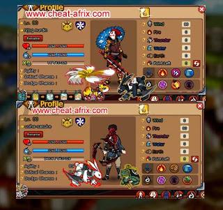 Jual Char Ninja Saga Premium Usher + Pet Rokubi