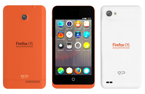 Mozilla Mobile Phones Keon and Peak Firefox OS