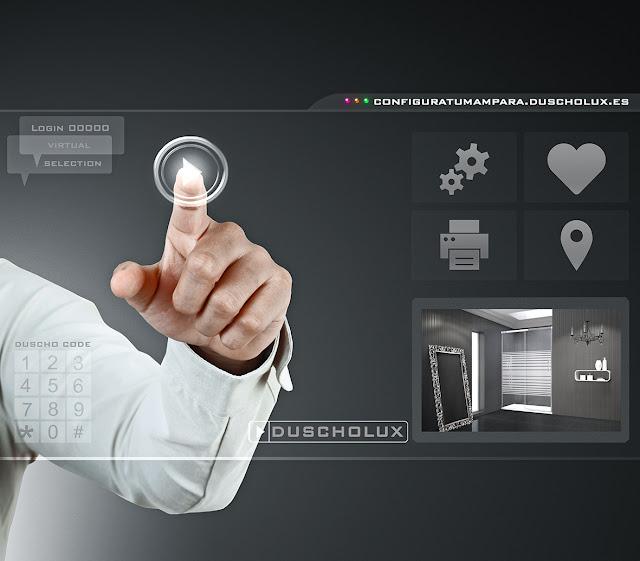 Configurador de mamparas DUSCHOLUX