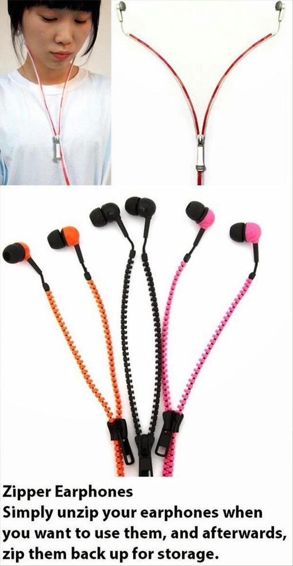 4. Zipper Ear-Phones