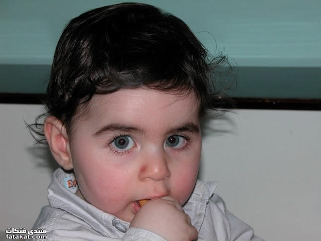 اجمل عيون اطفال في العالم