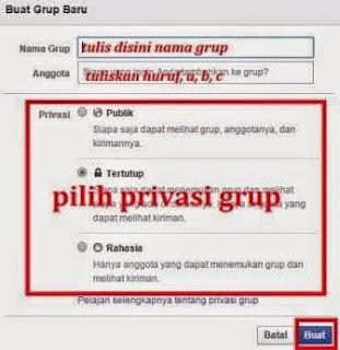 gambar 2 cara membuat grup fb