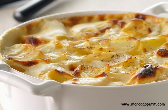 Recette de gratin dauphinois au fromage | Gratin with potatoes and cheese recipe