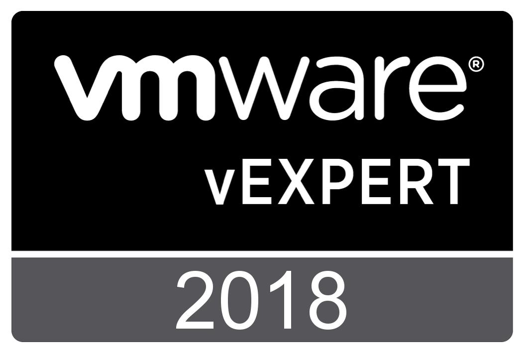 VMware vExpert 2012 ~ 2018