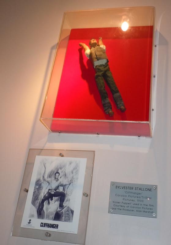 Cliffhanger Sylvester Stallone kicker puppet