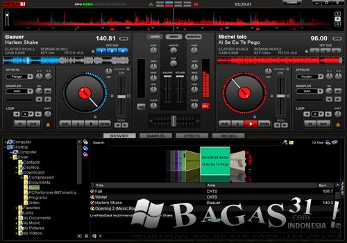 Virtual DJ Pro 7.4 Build 449 Full Crack 2