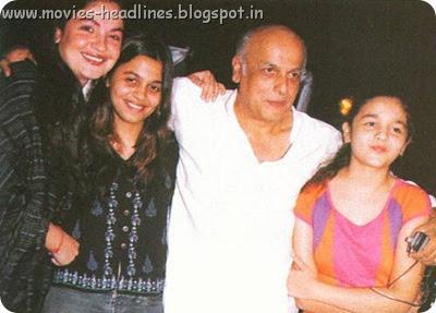 Alia Bhatt Childhood