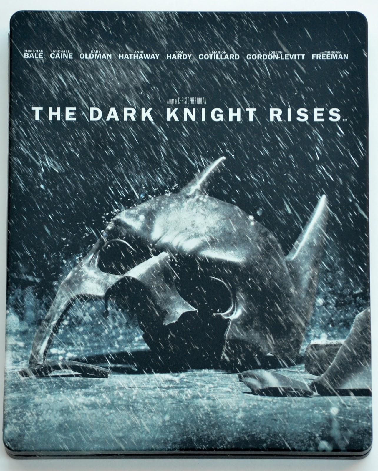 The Silver Screen 77 The Dark Knight Rises Blu Ray Steelbook
