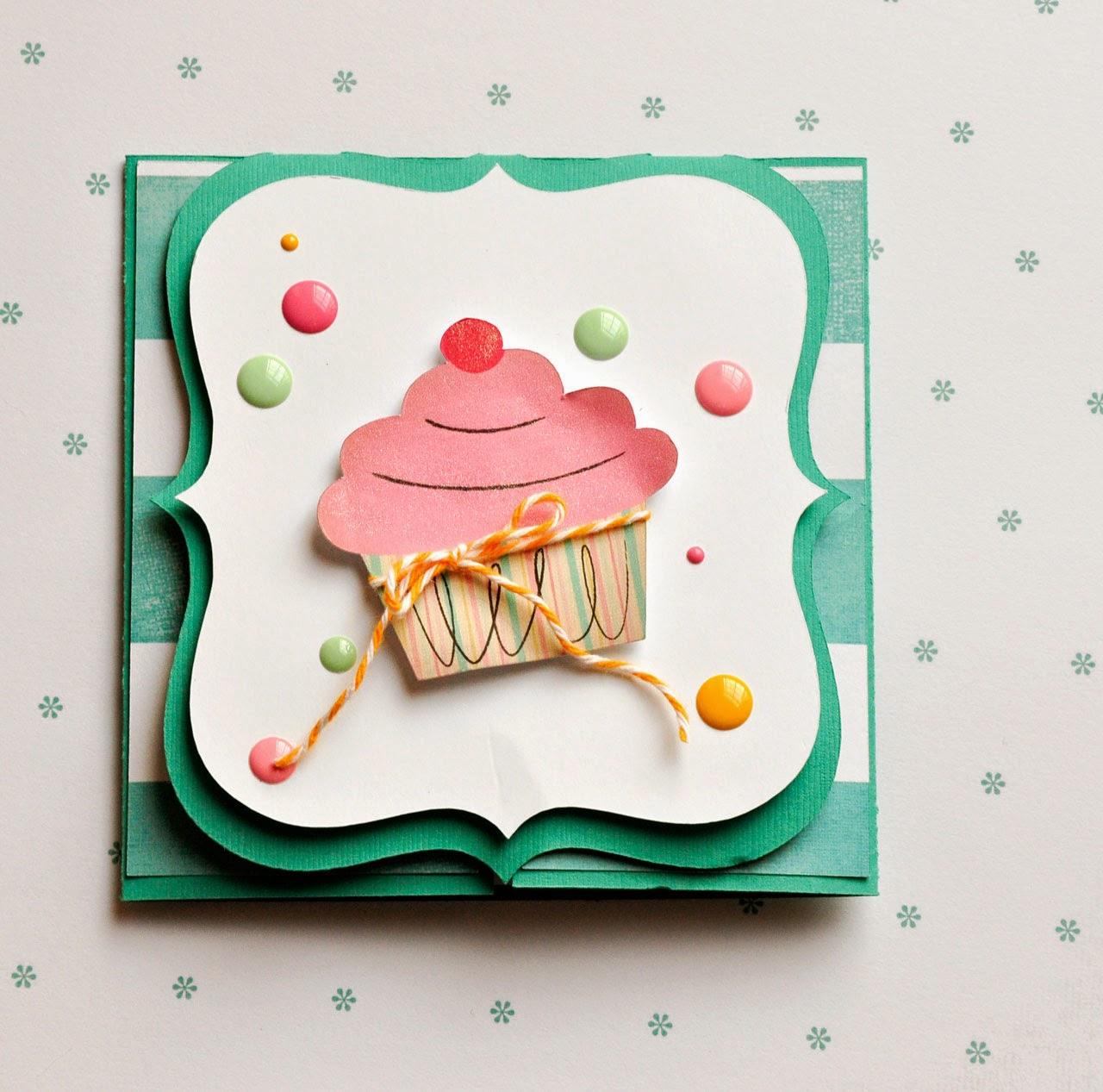 Happy Birthday Card With Cricut Explore