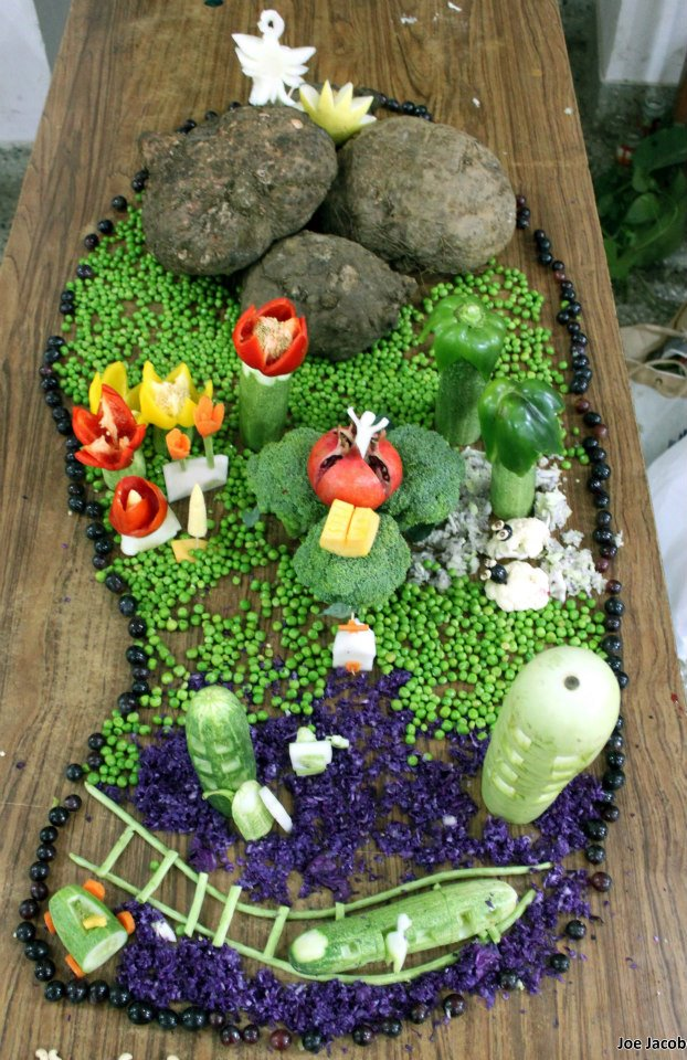 The gallery for gt vegetable carving competition easy
