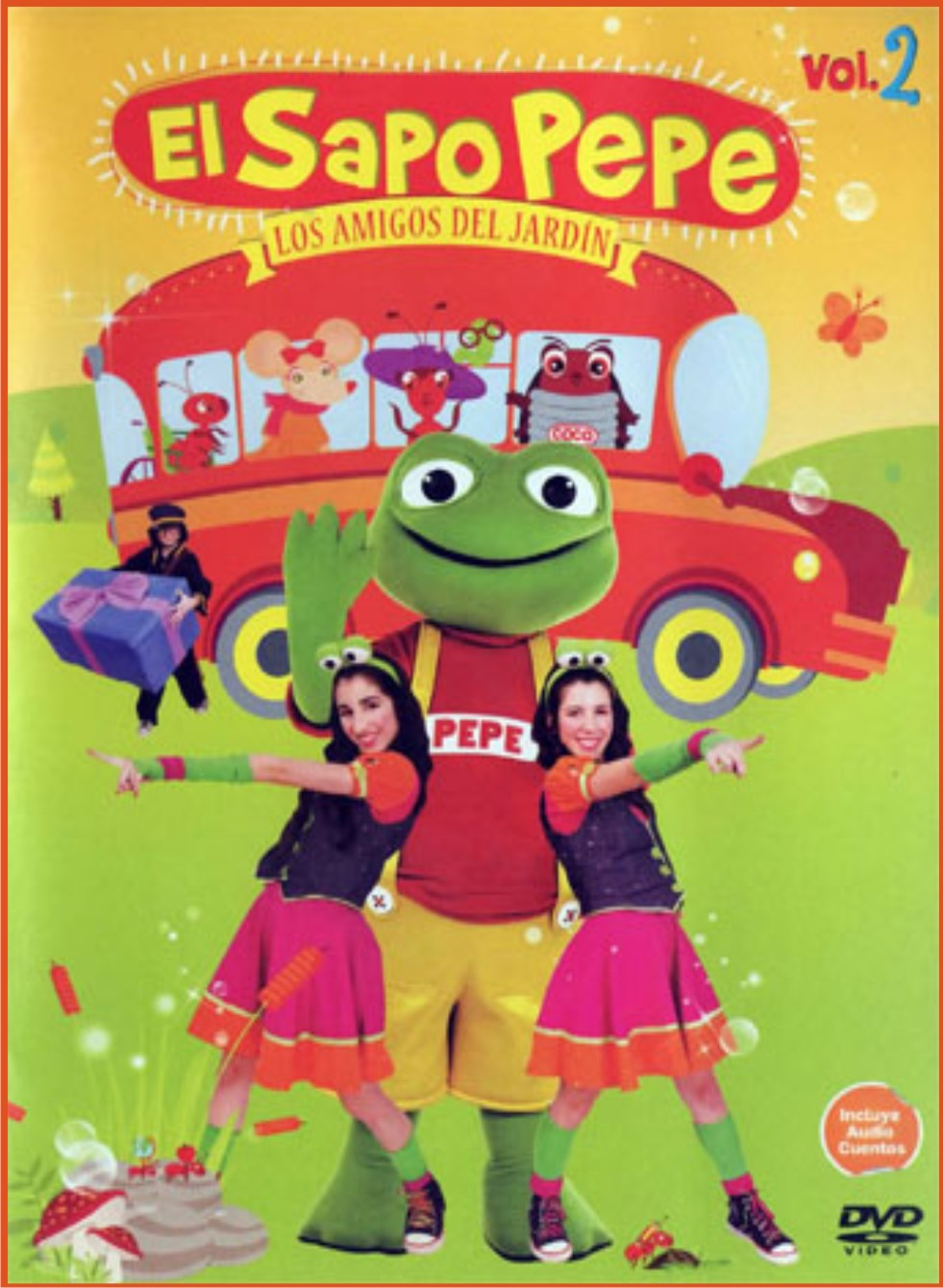 Bienvenidos a universo dvd for Amigos del jardin