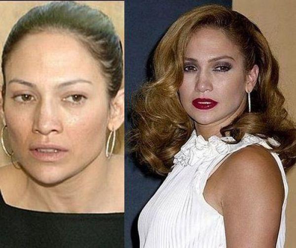 Chatter Busy: Jennifer Lopez No Makeup
