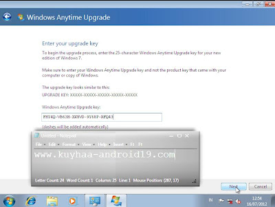 UPGRADE WINDOWS STARTER, HOME BASIC, HOME PREMIUM, PROFESIONAL KE ULTIMATE TANPA INSTALL