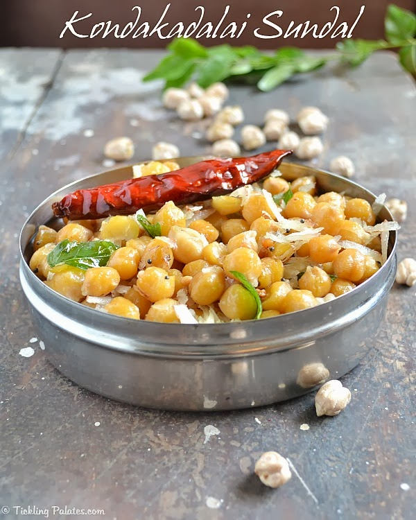 chickpeas sundal recipe