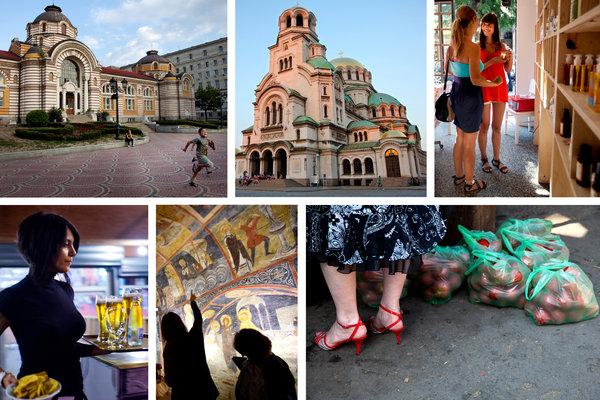 Sofia scenes