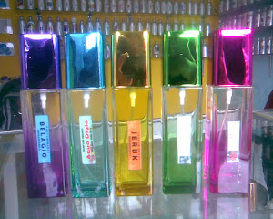 BOTOL SPRAY BALOK WARNA 50ML