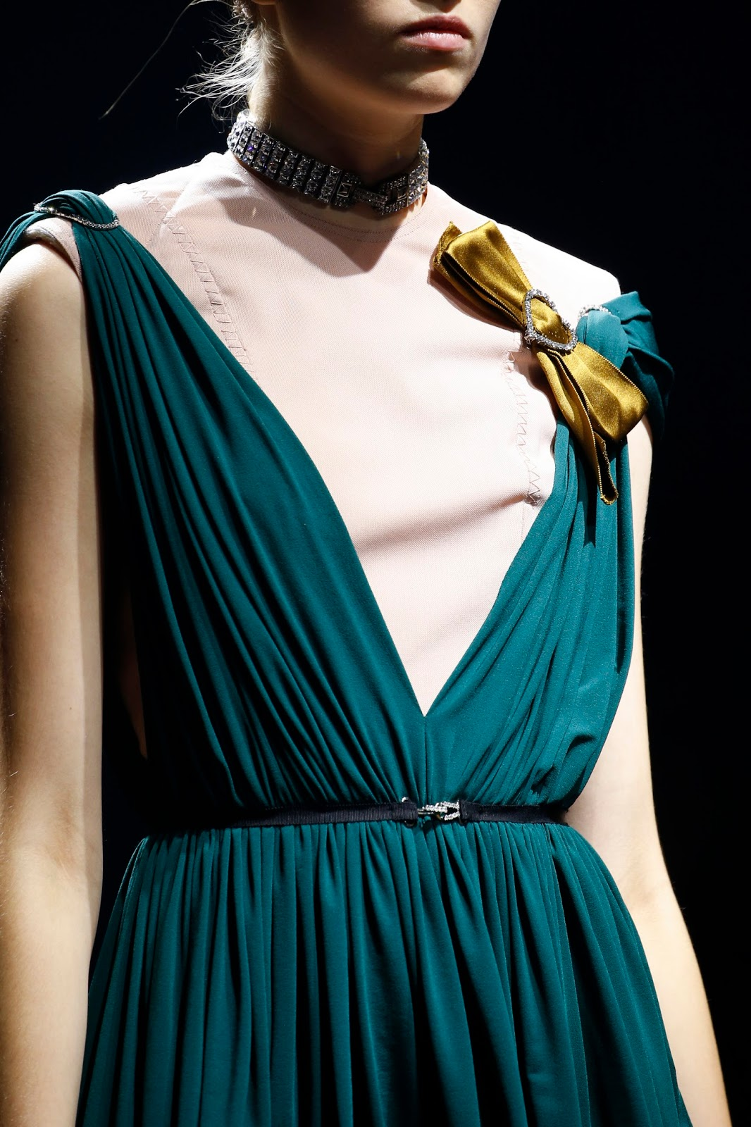 Spring/Summer 2016 trend report / Lanvin SS16 / ribbons & bows via www.fashionedbylove.co.uk