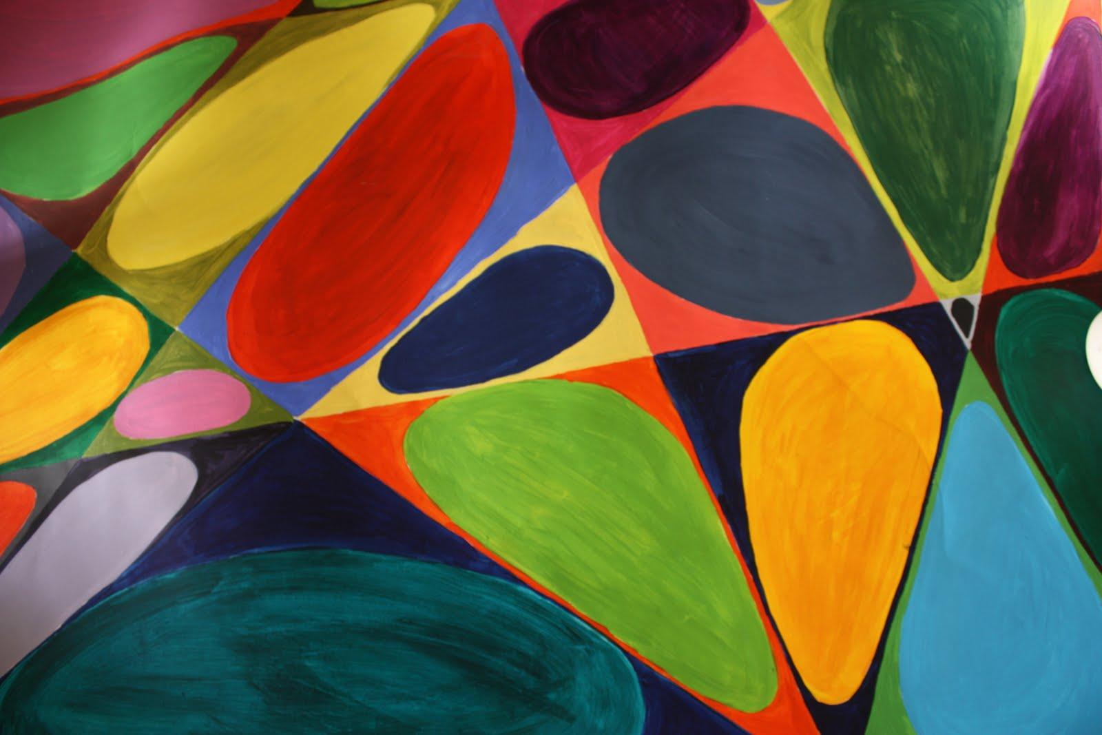 2d vormgeving kleuronderzoek 2 - Associatie van kleur e geen schilderij ...