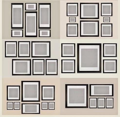 Boiserie c come disporre quadri e cornici sulla parete - Come disporre i quadri in sala ...