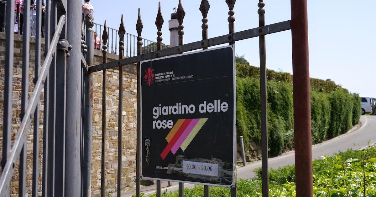 Girovagando giardini tematici a firenze il giardino delle rose e il giardino degli iris - Il giardino delle rose ...