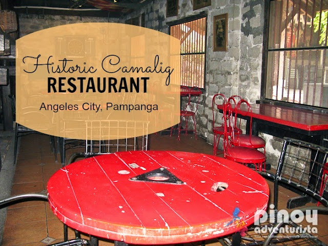 Where to Eat in Angeles Pampanga - Camalig Restaurant