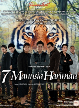 Foto 7 manusia harimau