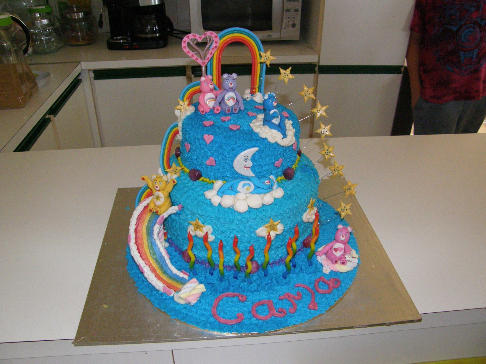 Its My Party Care Bears Birthday Cake