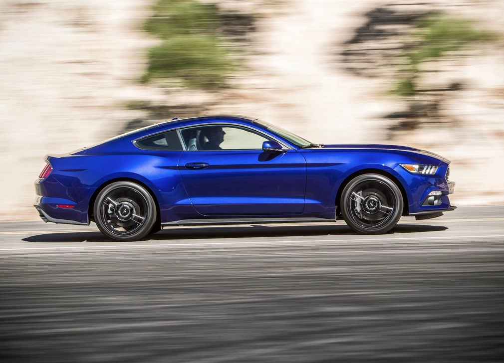 2015 ford mustang ecoboost blue - 2015 Ford Mustang V6 Blue