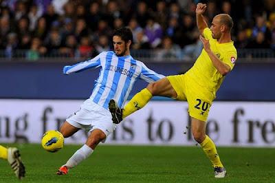 Malaga 2 - 1 Villarreal (1)