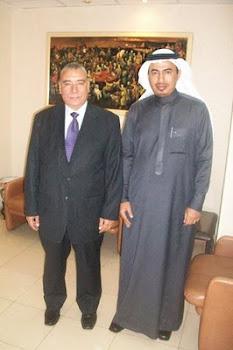 مع الدكتور ممدوح الرفاعي في القاهرة